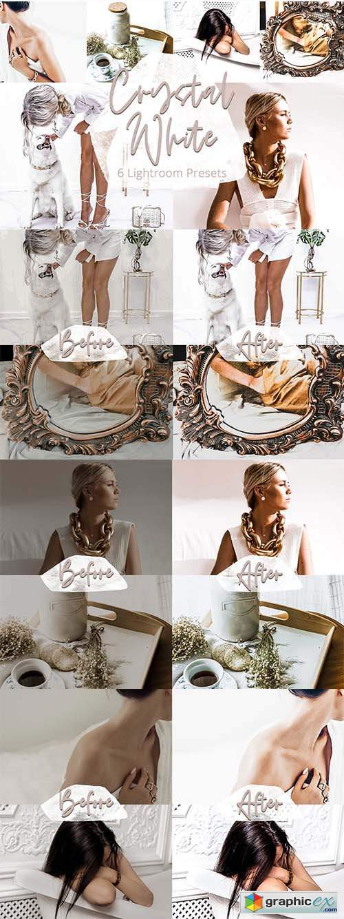Crystal White - Lightroom Preset Set