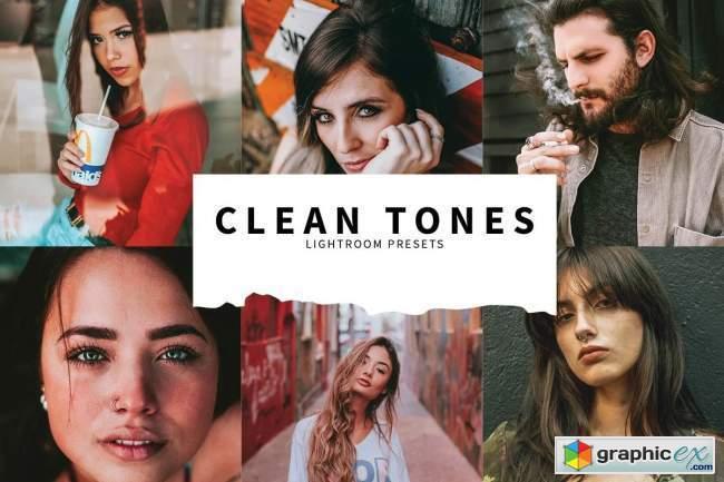 10 Clean Tones Lightroom Presets