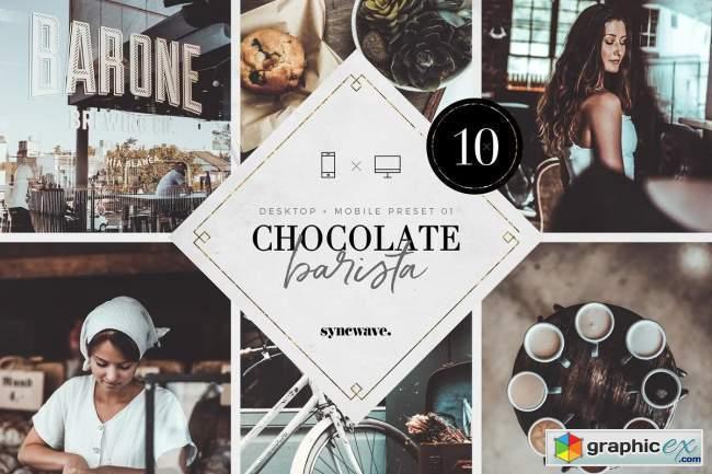 Chocolate Barista Lightroom Presets