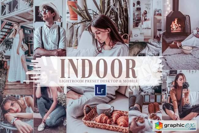 10 Indoor Mobile & Lightroom Presets