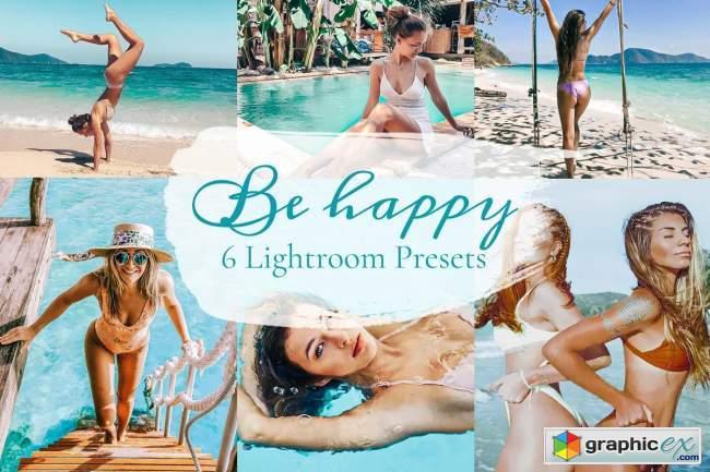 Be Happy - Lightroom Preset Pack