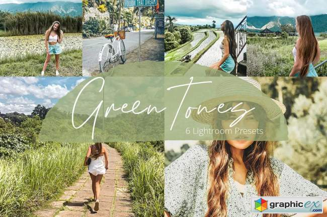 Green Tones - Lightroom Presets Pack