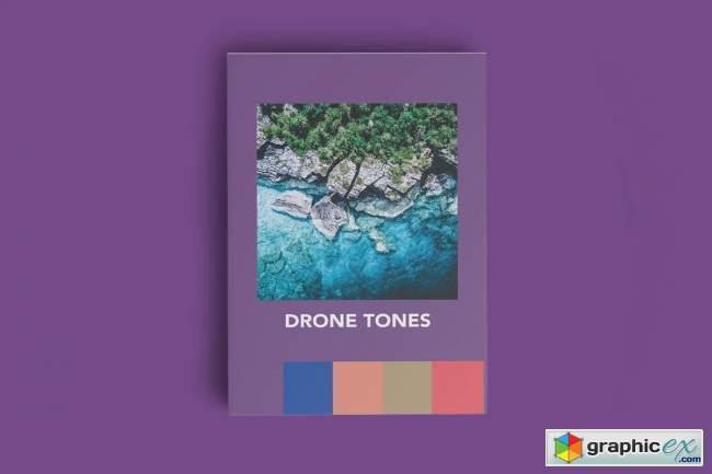 DRONE TONES MOBILE LIGHTROOM PRESETS