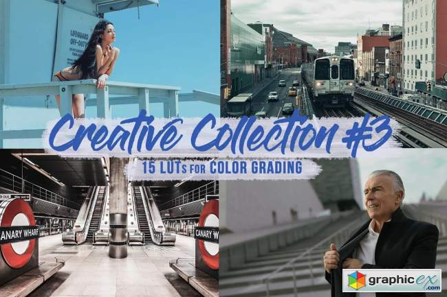 Creative Pack#3 - 15 LUTs/Filters