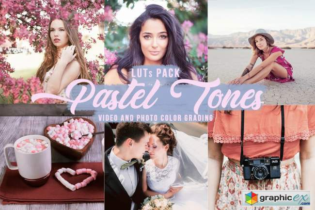 Pastel Creamy LUTs for Video/Photo