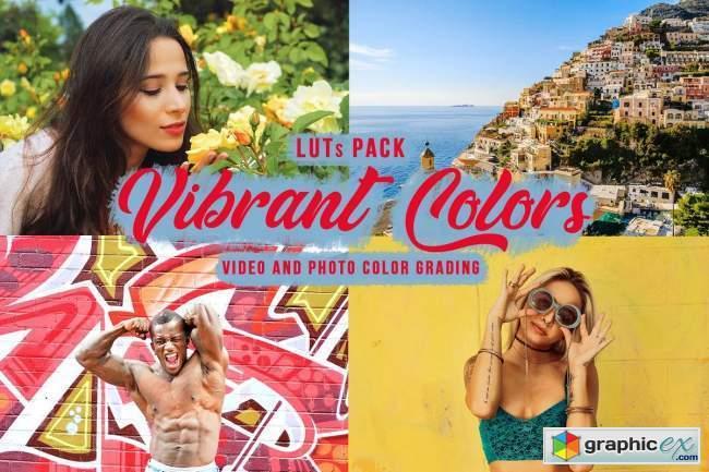 Vibrant Colors LUTs - Vivid Filters
