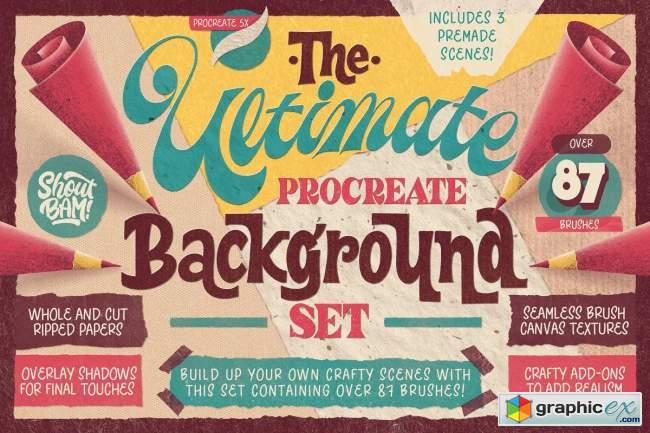 Ultimate Procreate Background Set