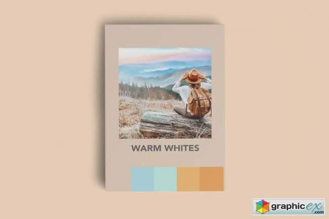 WARM WHITES FILM MOBILE LIGHTROOM PR