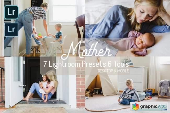 Mother Mobile/PC Lightroom Presets