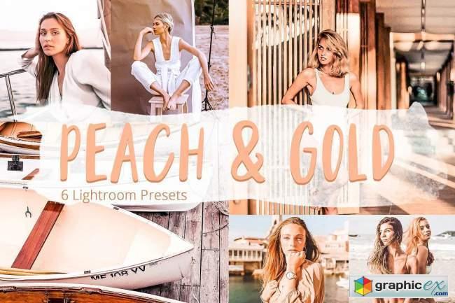 Peach & Gold - Lightroom Presets