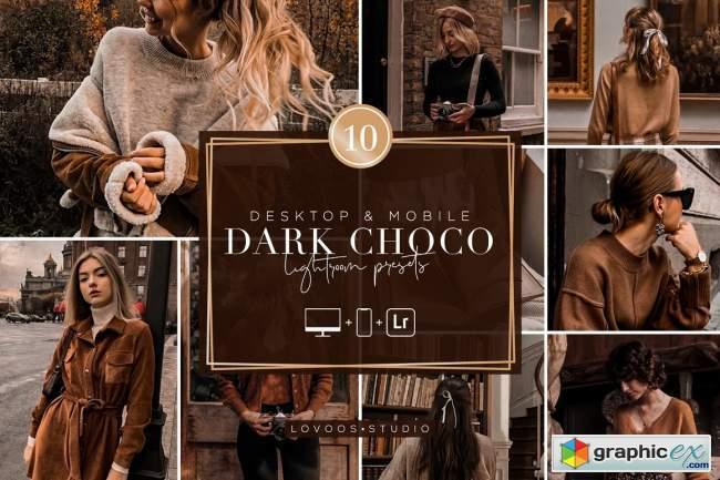 DARK CHOCO - Lightroom Presets