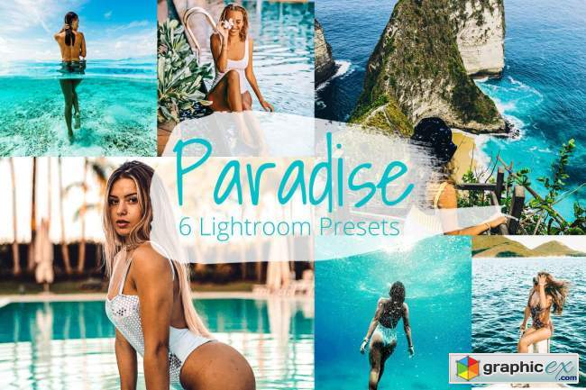 Paradise - Lightroom Preset Pack