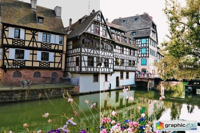 Strasbourg Pro Lightroom Presets