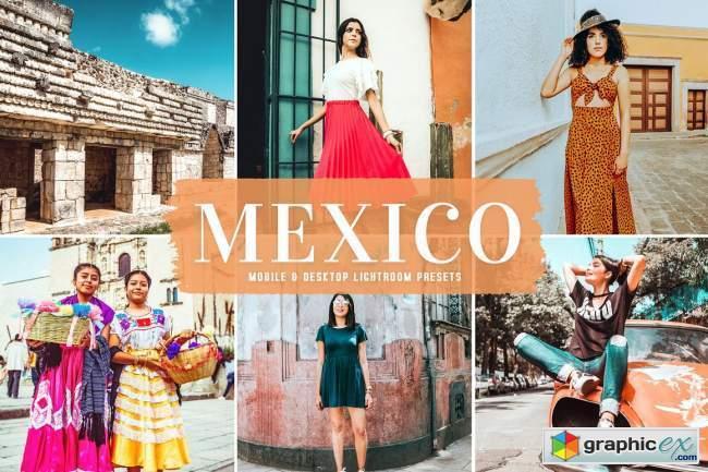Mexico Pro Lightroom Presets