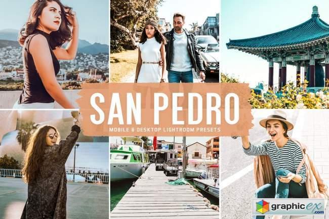 San Pedro Pro Lightroom Presets