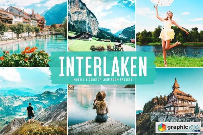 Interlaken Pro Lightroom Presets