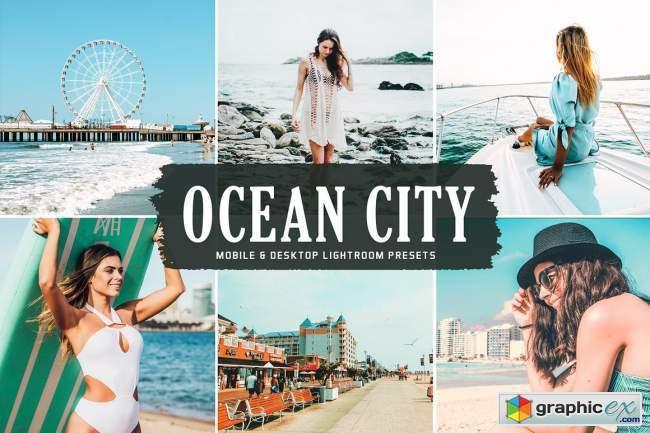 Ocean City Pro Lightroom Presets