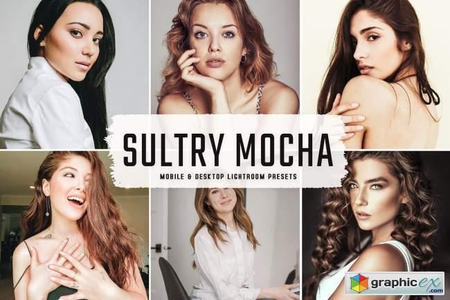 Sultry Mocha Pro Lightroom Presets