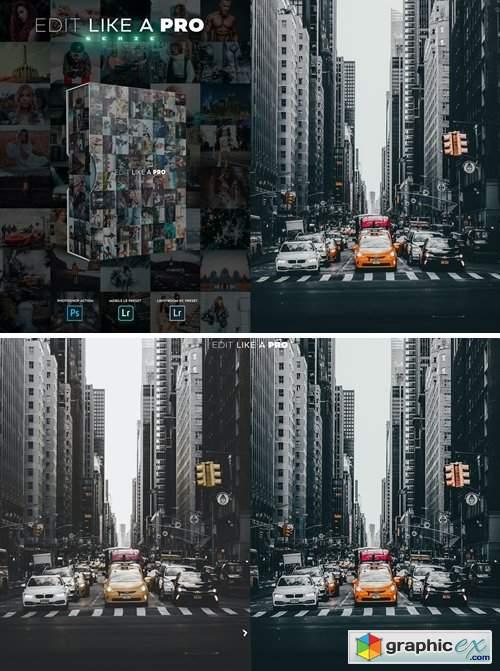 Edit Like A PRO 2nd - Photoshop & Lightroom