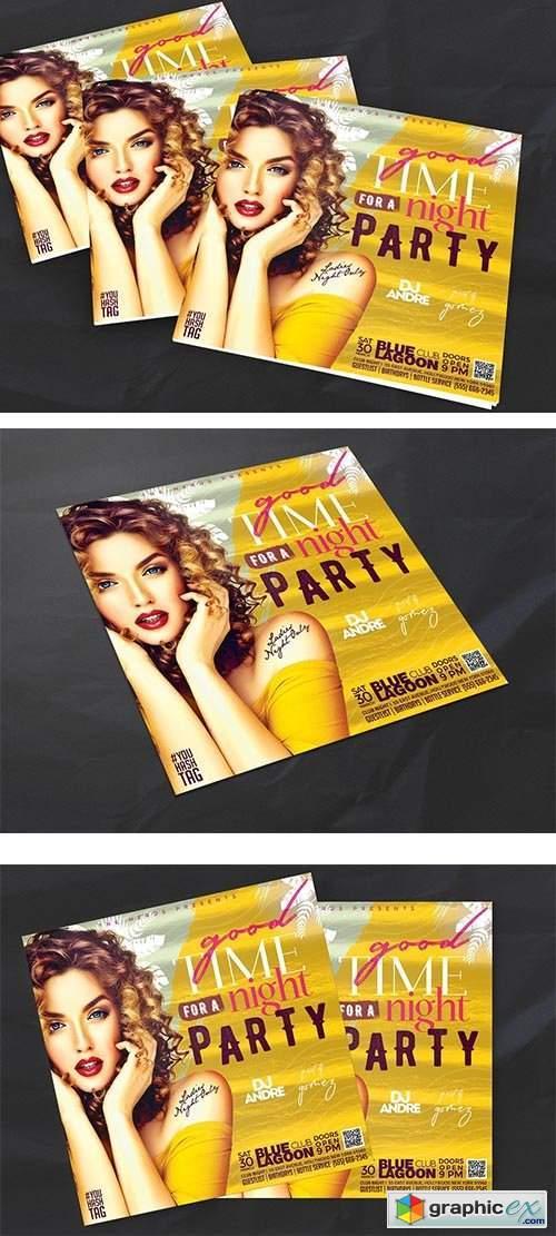 Night Club Flyer 5989509