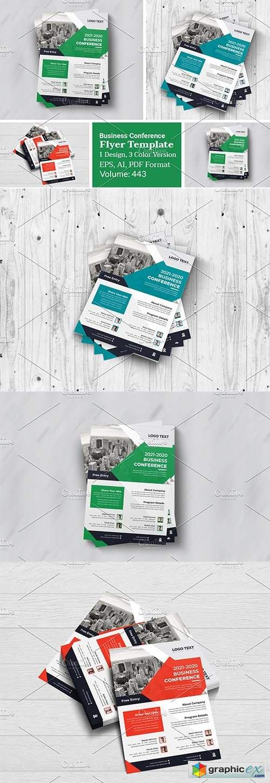 Business Conference Flyer Design