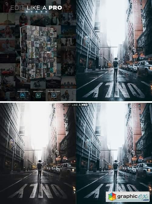 Edit Like A PRO 9th - Photoshop & Lightroom