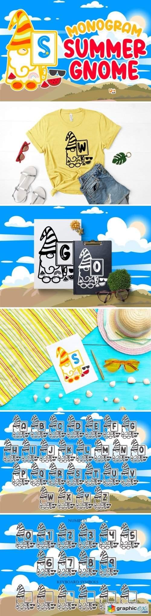 Monogram Summer Gnome Font