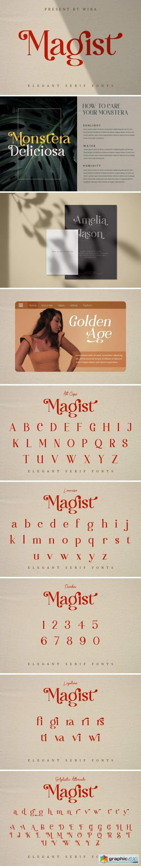 Magist Font