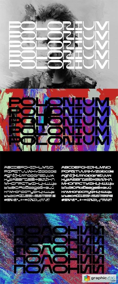 Polonium Font