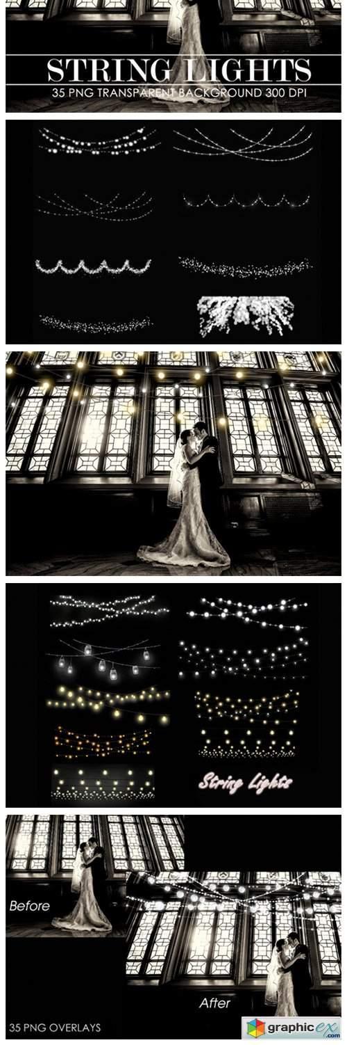 String Lights Overlay, String Lights