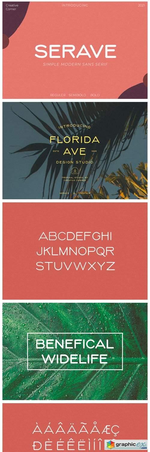 Serave Font