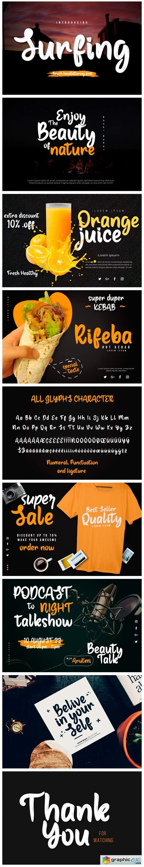 Surfing Font