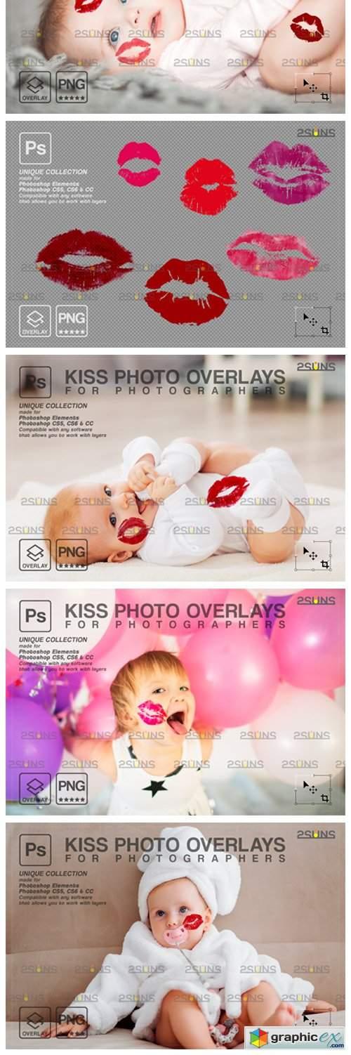 20 Kiss Overlays Photoshop Overlay