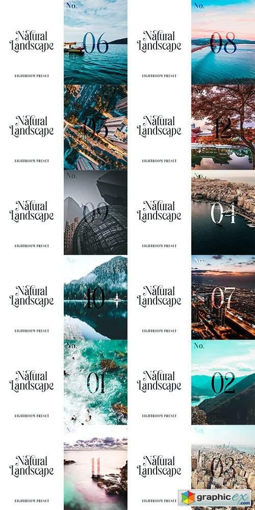 Lightroom Preset - Natural Landscape No.01-12