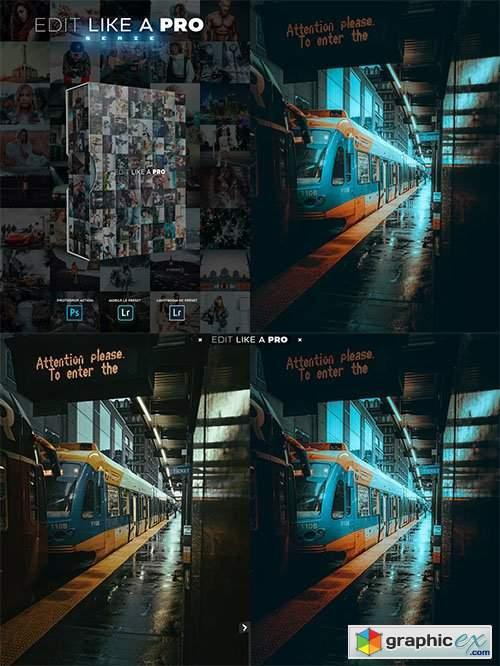 Edit Like A PRO 22th - Photoshop & Lightroom