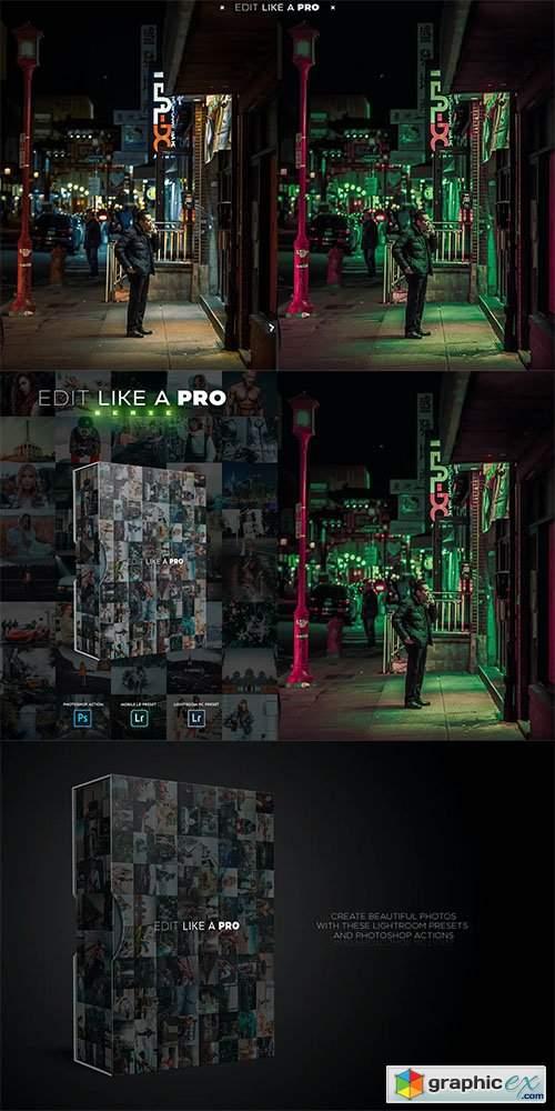 Edit Like A PRO 21th - Photoshop & Lightroom