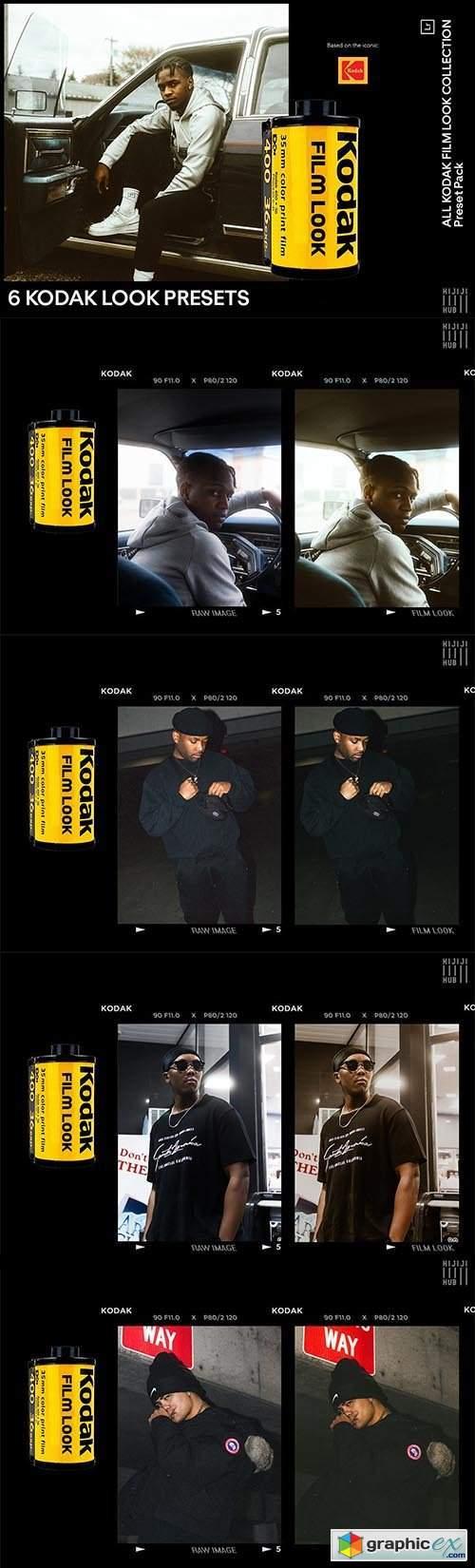 6 Kodak Looks Presets
