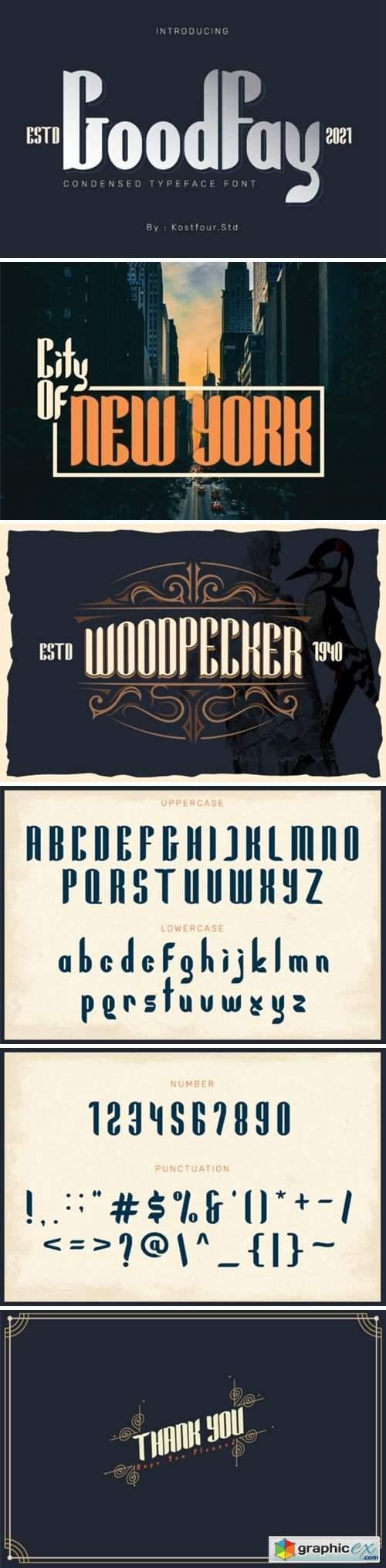 GoodFay Font
