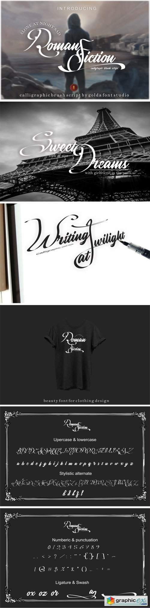 Roman Fiction Font