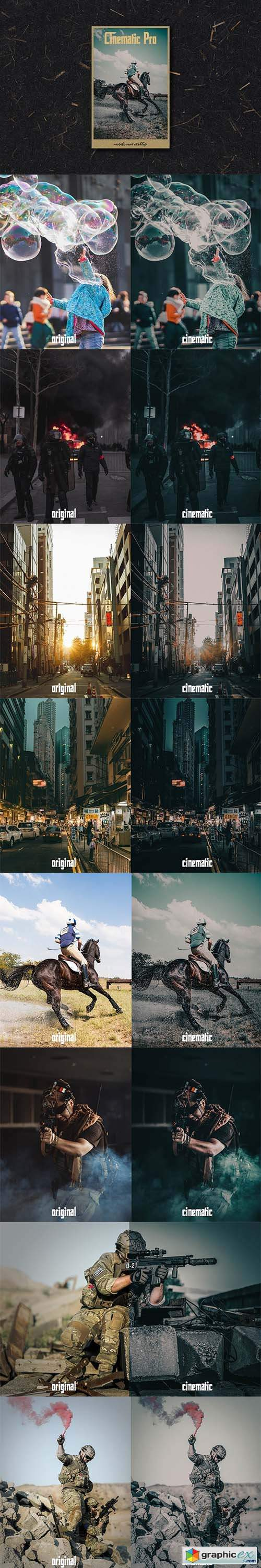 Cinematic Pro Lightroom Preset 6004784