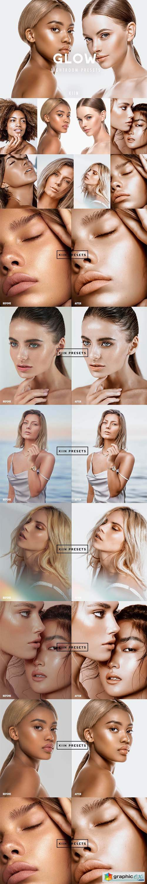 7 GLOWING SKIN LIGHTROOM PRESETS