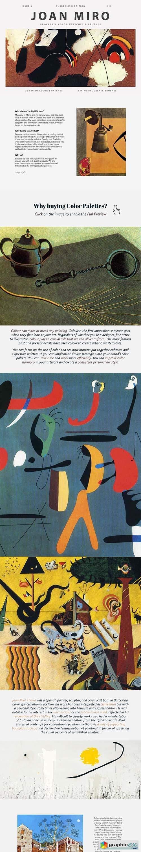 Joan Miro's Art Procreate Brushes