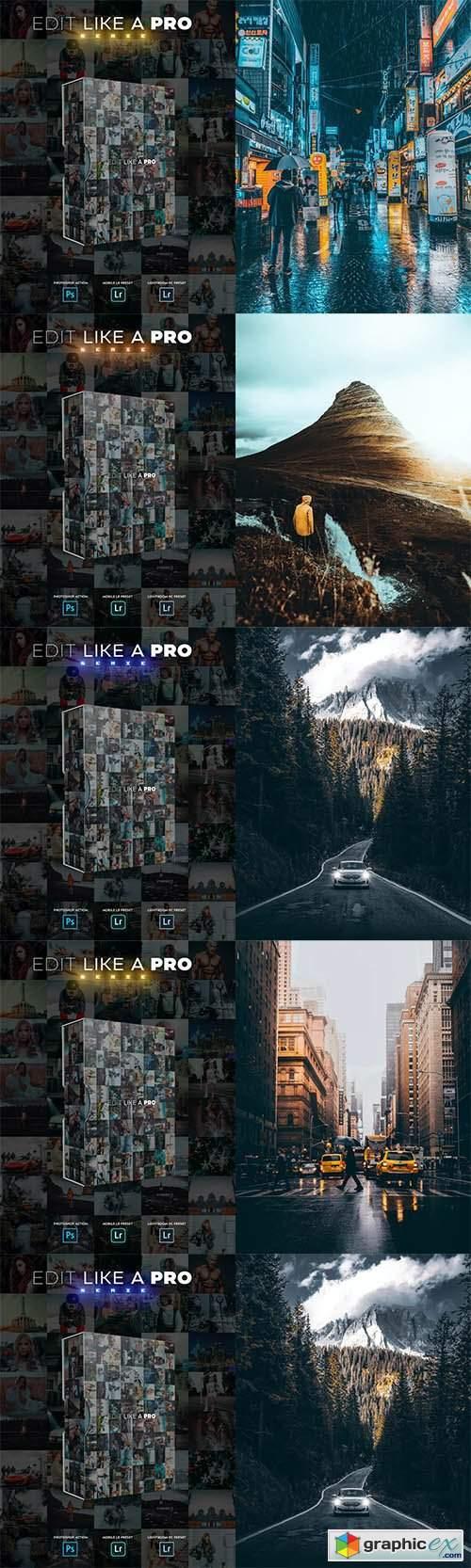 Edit Like A PRO 28-32th - Photoshop & Lightroom