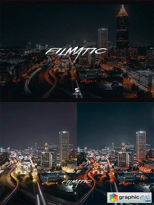 Filmatic Lightroom presets - Ultra Cinematic II