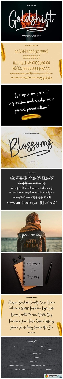 Goldshift Font