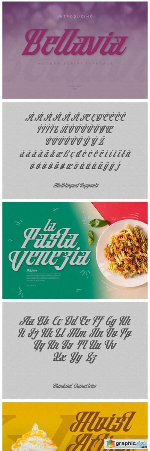 Bellavia Font