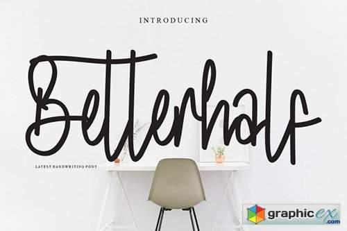 Betterhalf Font