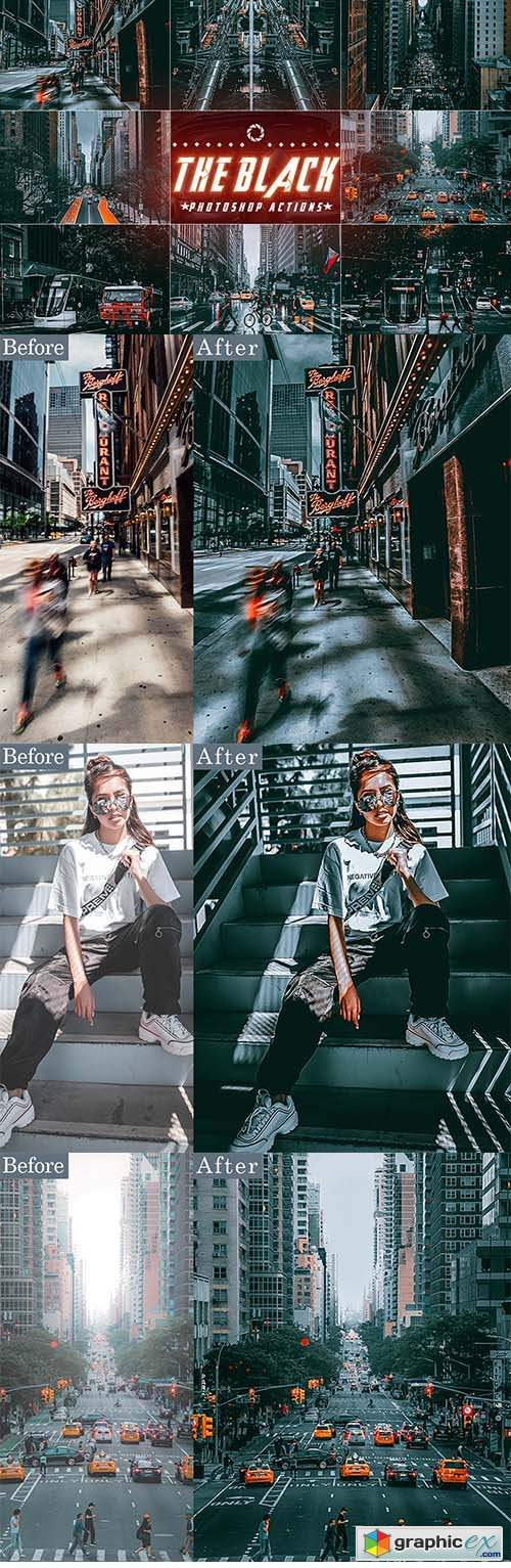 Photography Street - City - Photoshop Actions