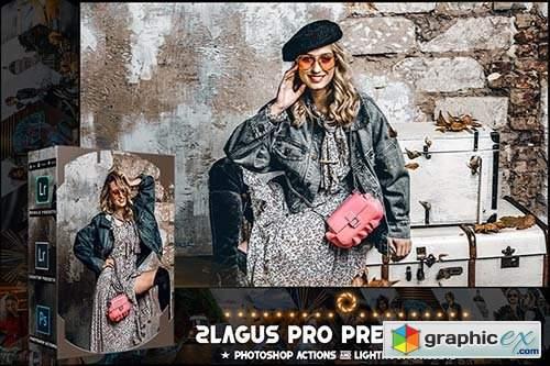 PRO Presets - V 08 - Photoshop & Lightroom