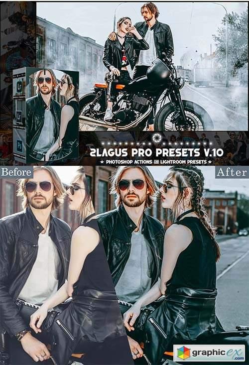 PRO Presets - V 10 - Photoshop & Lightroom